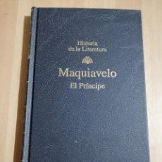 Libros de segunda mano: EL PRÍNCIPE (NICOLÁS MAQUIAVELO). Lote 234772800