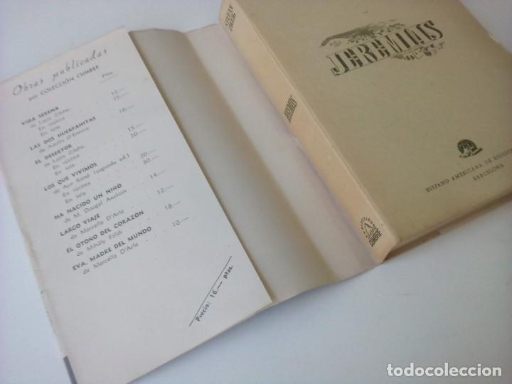 """Libros de segunda mano: """"JEREMIAS"""" - STEFAN ZWEIG - HISPANO AMERICANA DE EDICIONES - AÑOS 40 - Foto 3 - 234915920"""