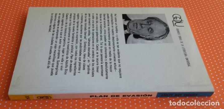 Libros de segunda mano: PLAN DE EVASIÓN. BIOY CASARES. KAPELUSZ. 1974. BUENOS AIRES. ED. ALBERTO MANGUEL. - Foto 6 - 234916580