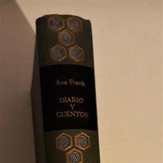 Libros de segunda mano: DIARIO Y CUENTOS - ANA FRANK. Lote 234929720