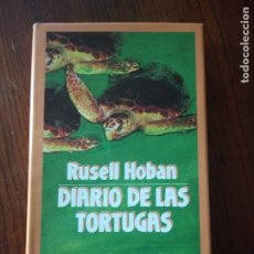 Libros de segunda mano: DIARIO DE LAS TORTUGAS-RUSELL HOBAN.. Lote 235100660