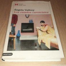 Libros de segunda mano: LOS ESTADOS CARENCIALES - ÁNGELA VALLVEY. Lote 235174410