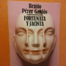 Libros de segunda mano: FORTUNATA Y JACINTA. 1. BENITO PÉREZ GALDÓS. ALIANZA EDITORIAL. Lote 262340270