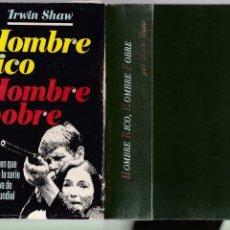 Libros de segunda mano: HOMBRE RICO, HOMBRE POBRE - IRWIN SHAW - PLAZA & JANES 1977 / 5ª EDICION. Lote 235791680
