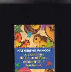Libros de segunda mano: LAS ARDILLAS DE CENTRAL PARK ESTAN TRISTES LOS LUNES - LA ESFERA DE LOS LIBROS 2012. Lote 235792725
