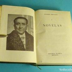 Libros de segunda mano: PIERRE BENOIT. NOVELAS. TOMO I. COLECCIÓN CLÁSICOS CONTEMPORÁNEOS. EDITORIAL PLANETA. 1957. Lote 235812545