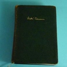 Libros de segunda mano: VICKI BAUM. NOVELAS. TOMO III. COLECCIÓN CLÁSICOS CONTEMPORÁNEOS. EDITORIAL PLANETA. 1957. Lote 235814245