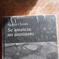 Libros de segunda mano: SE ANUNCIA UN ASESINATO - AGATHA CHRISTIE - RBA COLECCIONABLES - 2010, PYMY 90. Lote 236583220