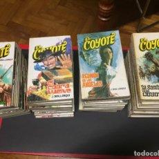 Libros de segunda mano: EL COYOTE. J. MALLORQUI. EDICIONES FAVENCIA. 58 EJEMPLARES. AÑOS 70. Lote 236604205