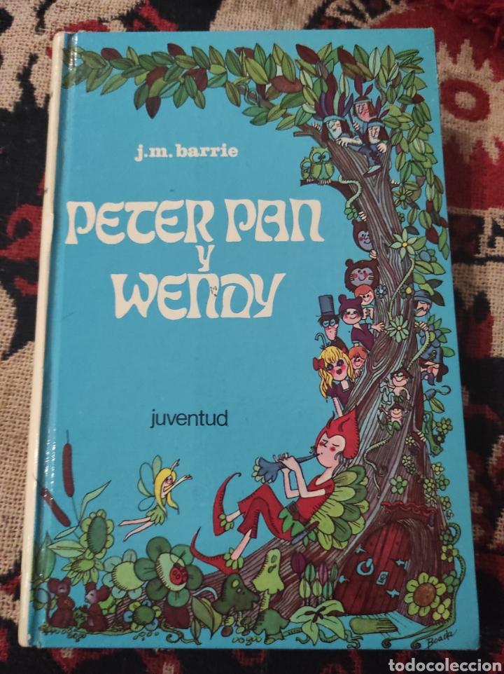 PETER PAN Y WENDY - J. M. BARRIE (TAPA DURA ILUSTRADA) 1973 (Libros de Segunda Mano (posteriores a 1936) - Literatura - Narrativa - Otros)