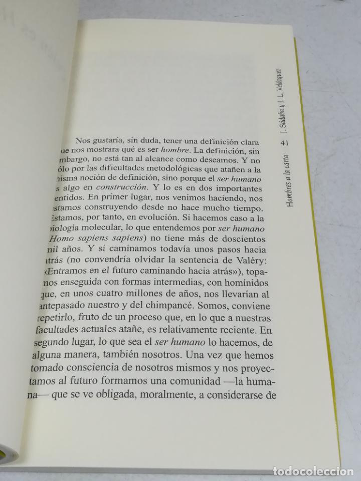 Libros de segunda mano: HOMBRES A LA CARTA. LOS DILEMAS DE LA BIOÉTICA. JAVIER SABADA / J.L. VELÁZQUEZ. TEMAS DE HOY. 183 PG - Foto 4 - 236629940
