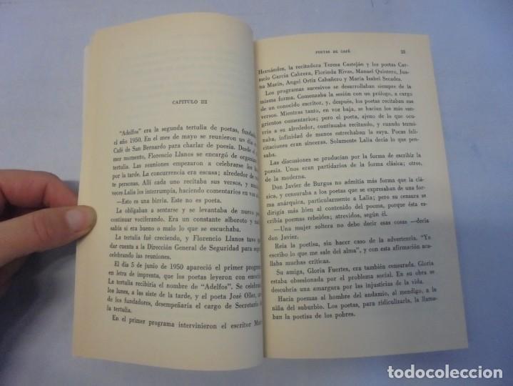Libros de segunda mano: POETAS DE CAFE. (NOVELA). ADELAIDA LOS SANTOS. DEDICADO POR AUTORA. EDITORIAL AGUACANTOS 1992 - Foto 9 - 236761985