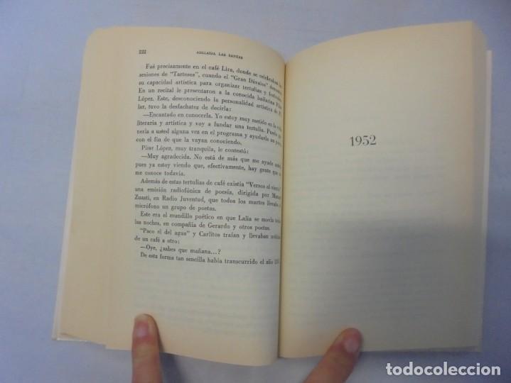Libros de segunda mano: POETAS DE CAFE. (NOVELA). ADELAIDA LOS SANTOS. DEDICADO POR AUTORA. EDITORIAL AGUACANTOS 1992 - Foto 11 - 236761985