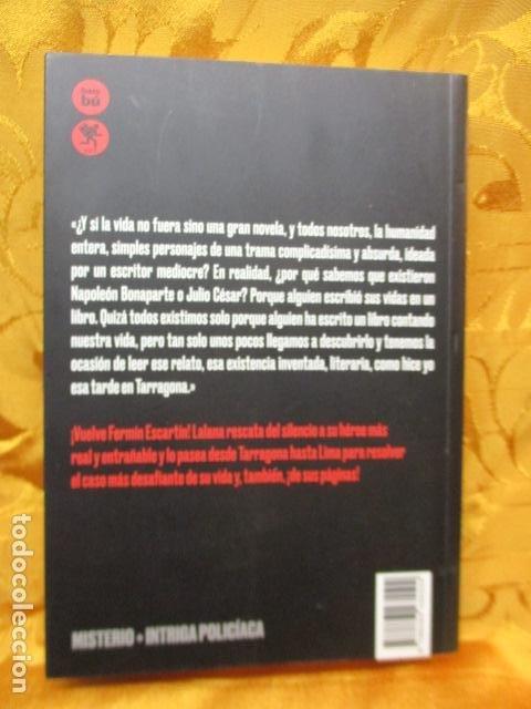 Libros de segunda mano: Escartín en Lima - de Lalana Josa, Fernando. COMO NUEVO - Foto 6 - 236804985