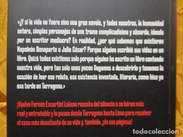 Libros de segunda mano: Escartín en Lima - de Lalana Josa, Fernando. COMO NUEVO - Foto 7 - 236804985