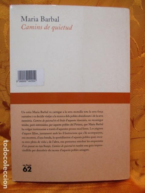 Libros de segunda mano: CAMINS DE QUIETUD (MARIA BARBAL) EN CATALAN - Foto 7 - 236805500