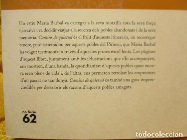 Libros de segunda mano: CAMINS DE QUIETUD (MARIA BARBAL) EN CATALAN - Foto 8 - 236805500