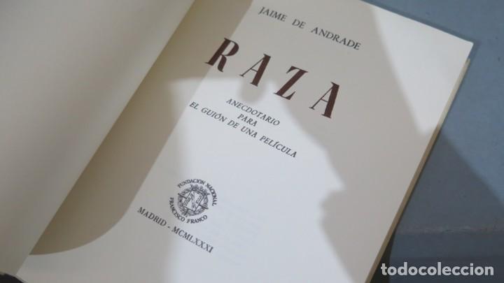 Libros de segunda mano: 1981.- RAZA. JAIME DE ANDRADE (FRANCISCO FRANCO) - Foto 2 - 236815880