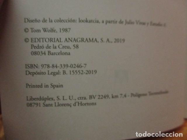 Libros de segunda mano: La hoguera de las vanidades, de Tom Wolfe - ANAGRAMA - Foto 7 - 236849190