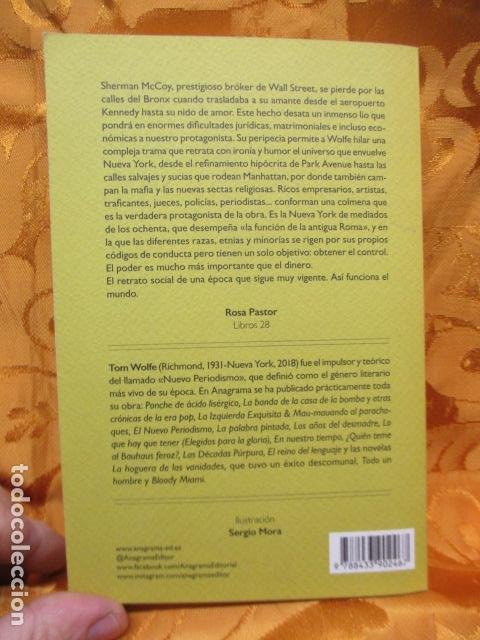 Libros de segunda mano: La hoguera de las vanidades, de Tom Wolfe - ANAGRAMA - Foto 11 - 236849190