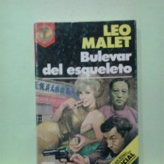 Libros de segunda mano: LMV - BULEVAR DEL ESQUELETO. LEO MALET. Lote 236867635