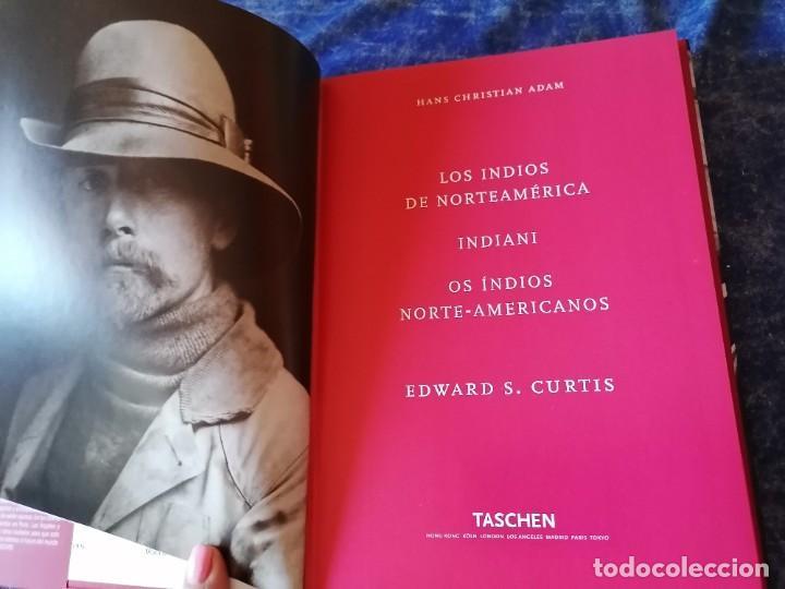 Libros de segunda mano: LOS INDIOS DE NORTEAMERICA * EDWARD S. CURTIS * TASCHEN * ICONS - Foto 3 - 236914060