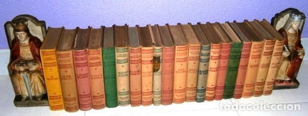 LOTE 22 LIBROS DE TAPA DURA: NOVELAS DE LA COLECCIÓN EDITORIAL EXITO EN BARCELONA 1950-1960 (Libros de Segunda Mano (posteriores a 1936) - Literatura - Narrativa - Otros)