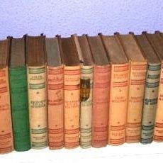 Libros de segunda mano: LOTE 22 LIBROS DE TAPA DURA: NOVELAS DE LA COLECCIÓN EDITORIAL EXITO EN BARCELONA 1950-1960. Lote 236923600