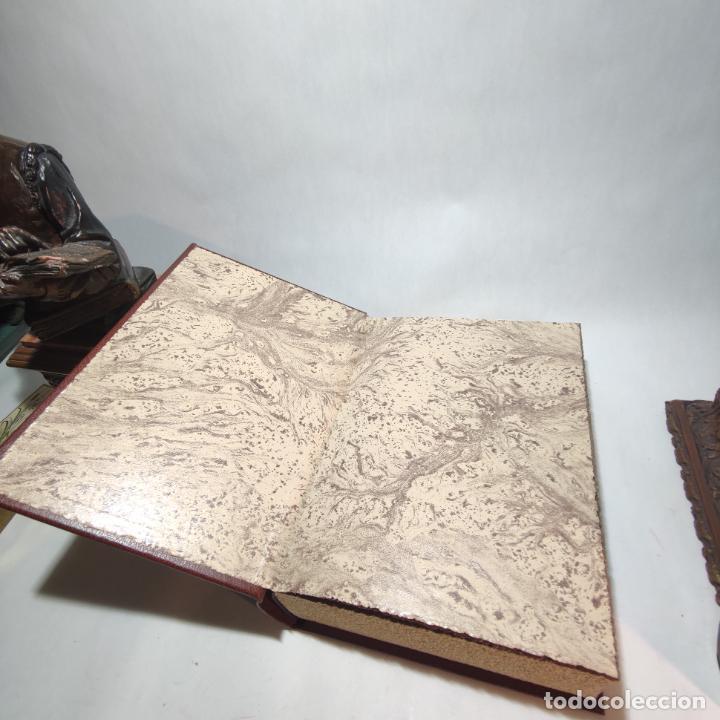 Libros de segunda mano: Don quijote de la mancha. Miguel de Cervantes. Edición Fascimil de 1605 y 1615. - Foto 2 - 236968975