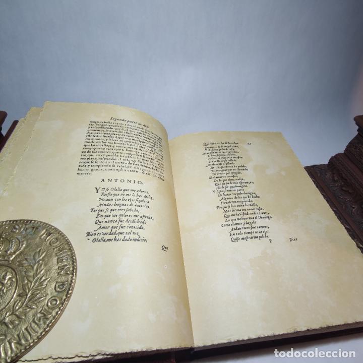 Libros de segunda mano: Don quijote de la mancha. Miguel de Cervantes. Edición Fascimil de 1605 y 1615. - Foto 9 - 236968975