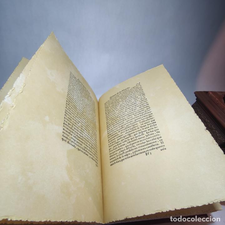 Libros de segunda mano: Don quijote de la mancha. Miguel de Cervantes. Edición Fascimil de 1605 y 1615. - Foto 10 - 236968975