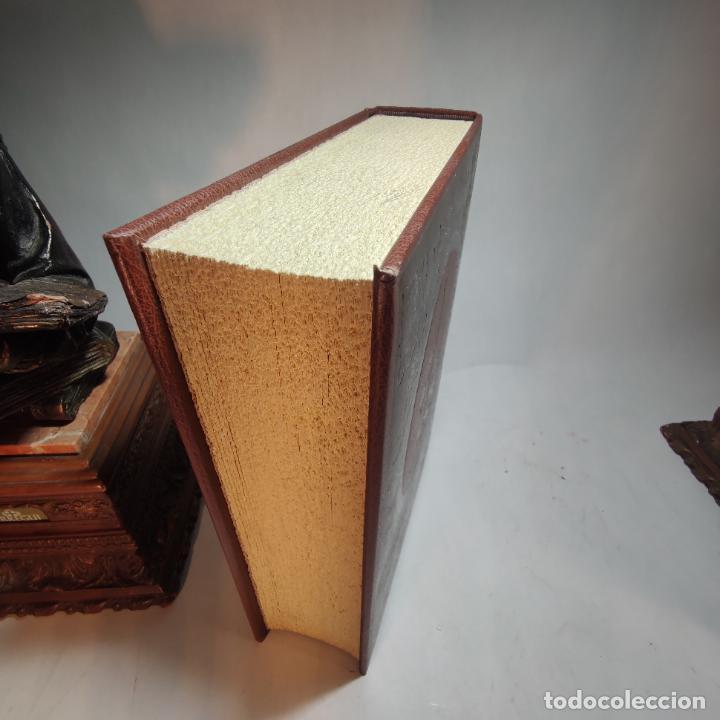 Libros de segunda mano: Don quijote de la mancha. Miguel de Cervantes. Edición Fascimil de 1605 y 1615. - Foto 11 - 236968975