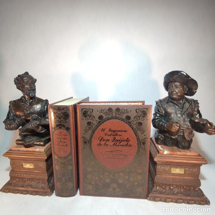 DON QUIJOTE DE LA MANCHA. MIGUEL DE CERVANTES. EDICIÓN FASCIMIL DE 1605 Y 1615. (Libros de Segunda Mano (posteriores a 1936) - Literatura - Narrativa - Otros)