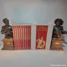 Libros de segunda mano: DON QUIJOTE DE LA MANCHA. MIGUEL DE CERVANTES. EDICIÓN COMIC. NUEVO. 10 TOMOS. CASTELL. 1990.. Lote 236970460