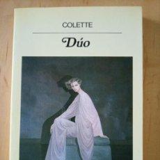 Libros de segunda mano: COLETTE DUO. Lote 237190990