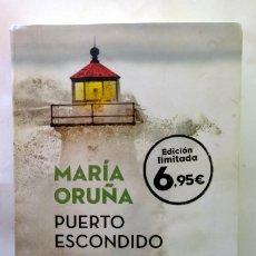 Libros de segunda mano: PUERTO ESCONDIDO, MARIA ORUÑA. Lote 237191430