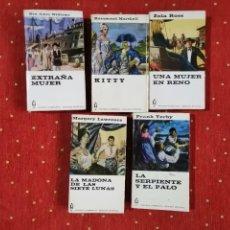 Libros de segunda mano: 5 NOVELAS DE LA COLECCIÓN ALCOTAN. EDICION INTEGRA DE EDITORIAL PLANETA.. Lote 237224710