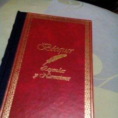 Libros de segunda mano: RDA/LIBRO BUENO COMO NUEVO/BECQUER/LEYENDAS Y NARRACIONES/MIDE APROX14X21CM/TIENE 221PAG. Lote 237547220