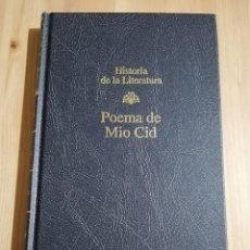 Libros de segunda mano: POEMA DE MIO CID (EDICIÓN, INTRODUCCIÓN Y NOTAS DE PEDRO M. CÁTEDRA). Lote 237589870
