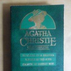 Libros de segunda mano: AGATHA CHRISTIE - OBRAS COMPLETAS Nº 11 - XI - ORBIS - 1984. Lote 237830800