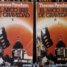 Libros de segunda mano: THOMAS PYNCHON . EL ARCO IRIS DE LA GRAVEDAD. Lote 238008990
