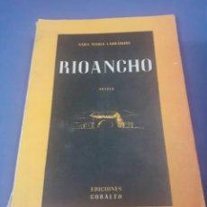 Libros de segunda mano: NOVELA RIOANCHO DE SARA MARIA LARABURRE AÑO 1949, ENVIO GRATUITO. Lote 238371495