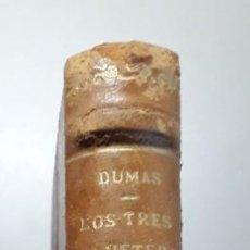 Libros de segunda mano: LOS TRES MOSQUETEROS. ALEJANDRO DUMAS-BRUGUERA.PRIMERA EDICIÓN 1953. Lote 238448460