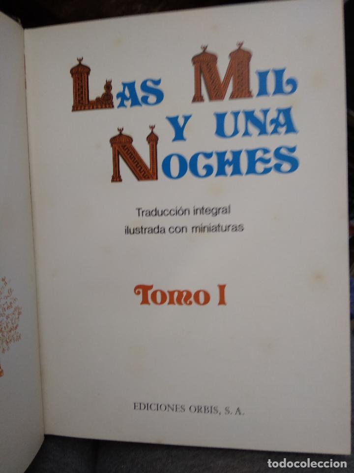 Libros de segunda mano: Las mil y una noches (12 tomos completa). Ed Orbis 1987. L.11649-1611 - Foto 8 - 238487500