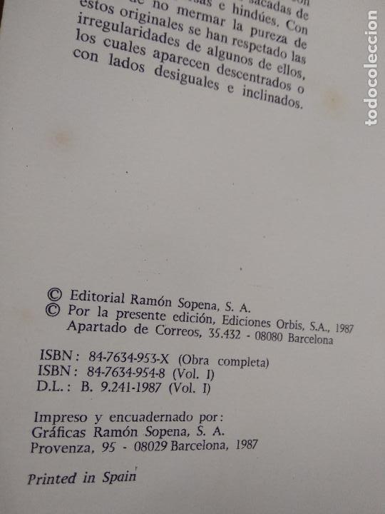 Libros de segunda mano: Las mil y una noches (12 tomos completa). Ed Orbis 1987. L.11649-1611 - Foto 10 - 238487500