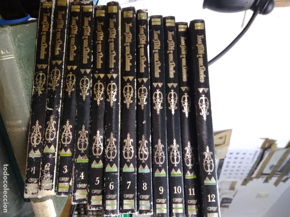 LAS MIL Y UNA NOCHES (12 TOMOS COMPLETA). ED ORBIS 1987. L.11649-1611 (Libros de Segunda Mano (posteriores a 1936) - Literatura - Narrativa - Otros)
