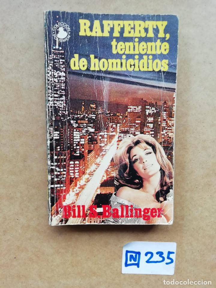 TENIENTE DE HOMICIDIOS (Libros de Segunda Mano (posteriores a 1936) - Literatura - Narrativa - Otros)