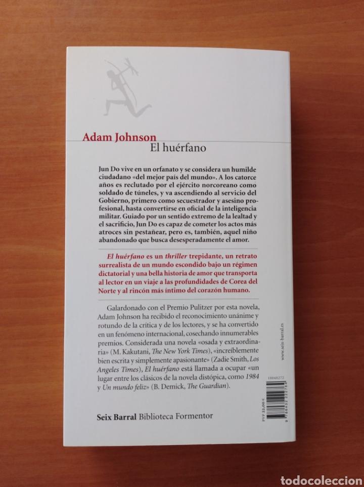 Libros de segunda mano: EL HUÉRFANO. Adam Johnson - Foto 2 - 239967310