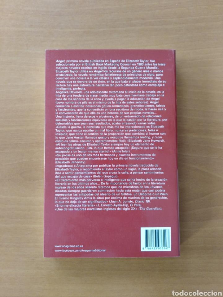 Libros de segunda mano: ÁNGEL. Elizabeth Taylor - Foto 2 - 239969995