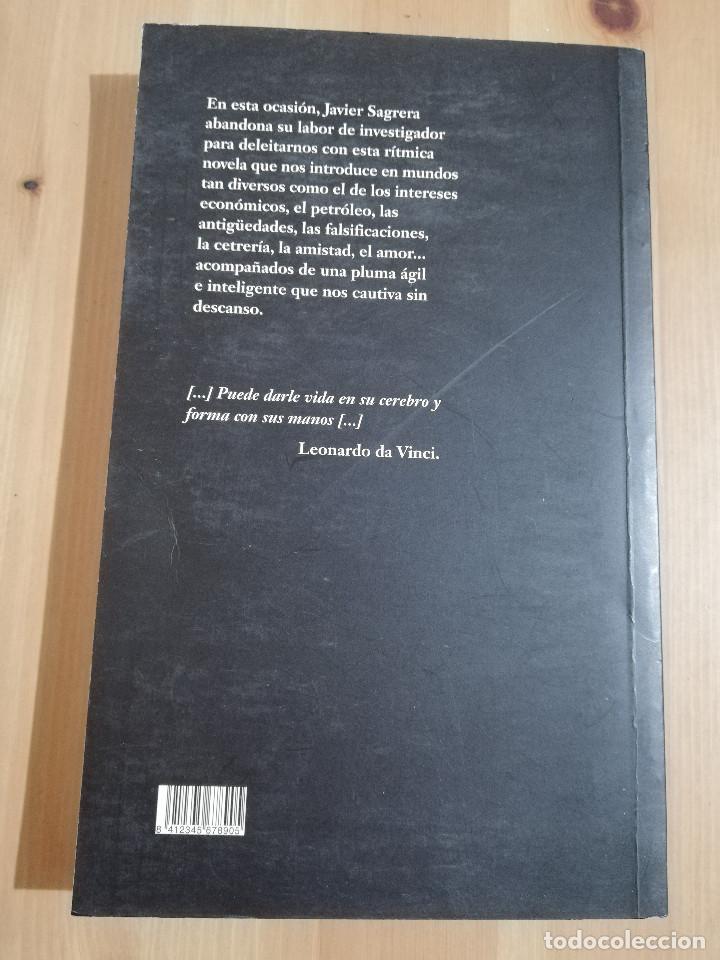 Libros de segunda mano: EL LIENZO EXACTO (JAVIER SAGRERA AZPILLAGA) - Foto 3 - 240213730